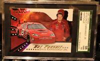 NASCAR  DALE EARNHARDT JR  2007 TRAKS  HOT PURSUIT  SGC 10  /  POP 1  / GEM MINT