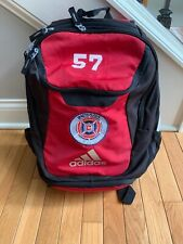 Adidas Climaproof Stadium Team Soccer Red Backpack Indiana Fire  #57