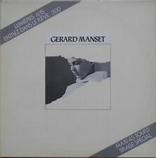 GERARD MANSET LUMIERES Maxi PROMO 1984 Etat neuf