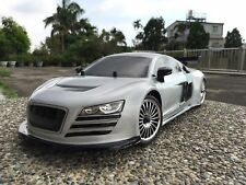 1:10 RC Clear Lexan body shell Audi R8 200mm suit Sakura HPI Electric Nitro