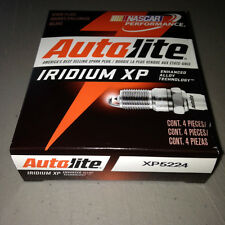 FOUR(4) Autolite Iridium XP5224 Spark Plug SET/BOX *$3 PER PLUG FACTORY REBATE*