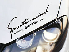 Sports mente adesivo si adatta a CITROEN C2 C3 C4 C5 DS XSARA CROSSER Emblema Logo B