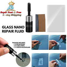 Automotive Glass Nano Repair Fluid Car Windshield Resin Crack Repair Tool Kit