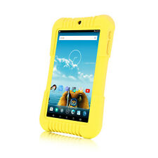 "iRULU 7"" Android 5.1 Lollipop Quad Core BadyPad 16GB Learning Tablet PC Yellow"