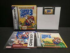 Super Mario Advance 4: Super Mario Bros. 3 (Game Boy Advance, 2003) GBA Complete