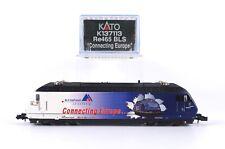 "Kato N K137113 E-Lok Re 465 BLS AlpTransit ""Connecting Europe"" - Unbespielt""4514"