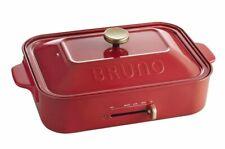 BRUNO compact hot plate BOE021-RD AC100V W375 x H135 x D235mm 4514499105796
