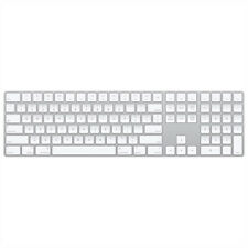 Teclado Apple Magic Con Teclado Numérico Recargable Inalámbrico De Plata MQ052LL/A