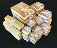 Gold Jewelry Gift Boxes for Jewelry Boxes Magnetic Ribbon QUALITY Gift Boxes