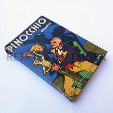 Collodi - Le avventure di Pinocchio Marzocco 1940 Illustrato Attilio Mussino