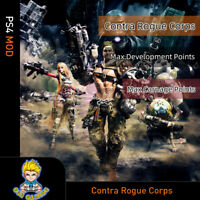 Contra Rogue Corps (PS4 Mod)-Max Development Points/Carnage Points
