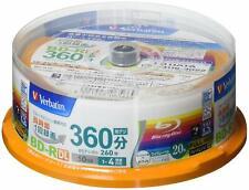 Blu Ray Verbatim Blu-ray Disc 20 Spindle - 50 GB 4X Speed BD-R DL - Printable