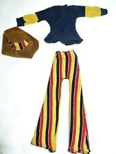 VTG MEGO TAGGED DINAH MITE DOLL FOLKSING FASHION OUTFIT #1407 H.K.