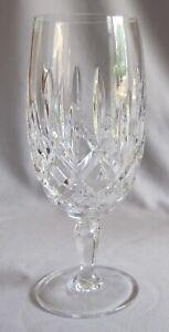 "Iced Tea Glass Goblet Gorham Crystal Lady Anne Pattern 7 5/8"""