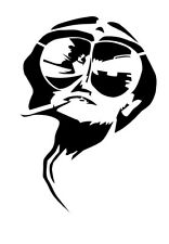 Fear and Loathing in Las Vegas vinyl decal Hunter S Thompson Johnny Depp book