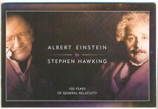 Isle of Man-Einstein-Hawking prestige booklet mnh 2016-Science-self-adhesive