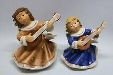 Goebel 2x Porzellan Engel Weihnachten Kerzenständer 42082 & 4244712