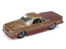 RACING CHAMPIONS MINT 1:64 Diecast 1986 Chevrolet El Camino Gold and Brown