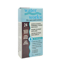 Water Works Permanent Powder Hair Color #24 - Natural Medium Brown 0.21oz