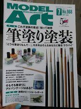 Model Art 2017 7 968 Modeling Magazine Japan Book Brush Painting Paintingcoating
