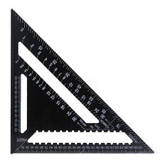 12 Inch Aluminum Alloy Speed Square Rafter Triangle Angle Square Measuring Guide