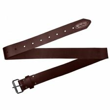 """Astra Cutting Edge 2"""" Wide Work Belt Brown Oil Tan Leather Tool"""