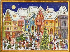 Mond über dem alten Markt Viktor. Adventskalender aus Glanzbild-Motiven  70118