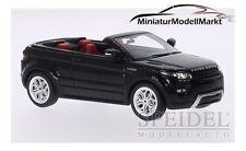 #0475r - Premium x range rover evoque convertible-negro-RHD - 2012 - 1:43