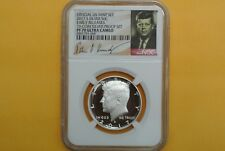 2017 S Silver Proof Kennedy Half Dollar NGC PF70 ULTRA CAMEO Early Releases