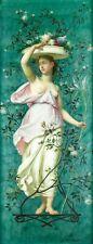 Alexis Joseph Mazerolle (French,1826-1889) oil painting antique