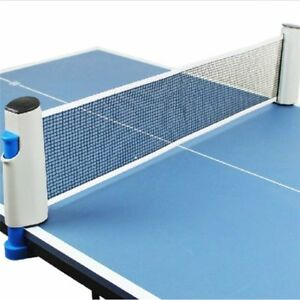 Table Tennis Plastic Strong Mesh Net Portable Rack Replace Kit For Ping Pong New