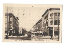 Trois Rivieres Quebec PQ -LA RUE DES FORGES c1910 Trolley Street View Postcard