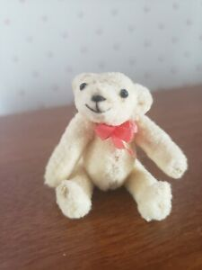 "VINTAGE 2+1/4"" TEDDY BEAR BY TIGGYWINKLES circa late 1980s"