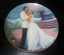 """Knowles 1987 South Pacific, """"Some Enchanted Evening"""" #9371A Collector Plate"""