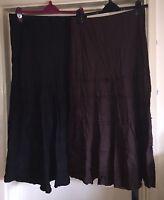 M&S Skirt Bundle, Linen, Size 12 - Lovely!