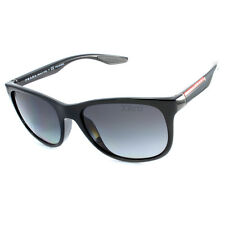 Prada Sport PS 03OS 1AB5W1 Polarised Black/Grey Gradient Linea Rossa Sunglasses