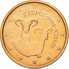 [#581952] Cyprus, 2 Euro Cent, 2008, PR+, Copper Plated Steel, KM:79