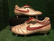 NIKE TIEMPO R10 RONALDINHO GOLD TOTAL 90 T90 CTR360 SOCCER SHOES 44,5 10,5 10