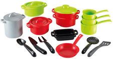 Ecoiffier Großes Topfsortiment XXL für Kinderküche Topf Töpfe Kinder Spielzeug