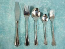 WMF Cromargan Spain Stainless Flatware 5 Piece Place setting NEW in BOX VINTAGE