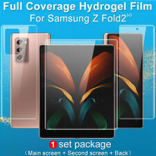 For Samsung Galaxy Z Fold 2 5G IMAK Full Cover Clear Hydrogel Soft Screen Film