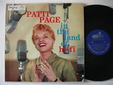 Patti Page LP 1956 In the land of HI FI VG + EmArcy MG 36074