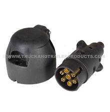 7 Pin - Plastic Plug and Socket Set - Trailer