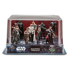 Disney Store Rogue One Star Wars Story Deluxe 10 Figure Set Figurine Cake Topper