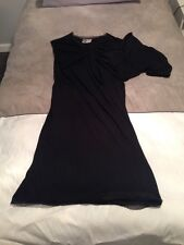 Lanvin  Size M Black Cotton and Dress