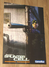 Splinter Cell Pandora Tomorrow  & Rome Total War  very rare Poster 40x58cm
