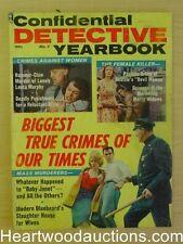 """Confidential Detective Yearbook"" 1962 1963"