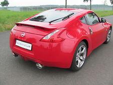 Nissan 370 Z Sportauspuff/Auspuffanlage/Klappenauspuff/Klappen-Abgasanlage