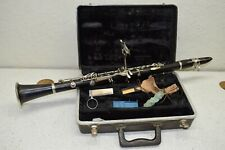 VINTAGE SELMER SIGNET 100 WOOD CLARINET WITH MOUTHPIECE IN HARDSHELL CASE