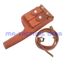 WWII World War 2 German Army Mauser C96 Leather Holster And Stock Broomhandle